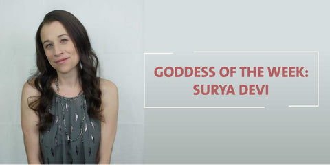 Goddess Surya Devi Singer Songwriter wears Amaterasu Beauty Smudgeproof Brow Liner