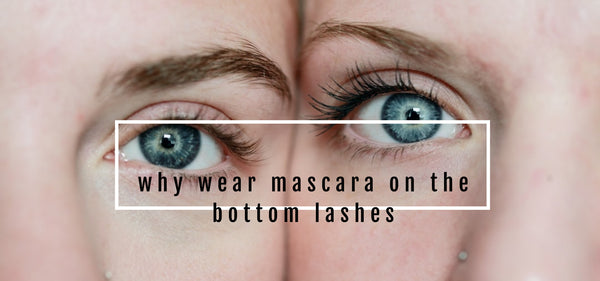 Why you should wear mascara on your bottom lashes and how to tips Amaterasu Beauty