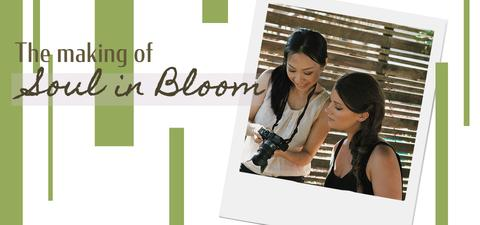 Amaterasu Beauty, The Making of the Soul in Bloom Photoshoot blog