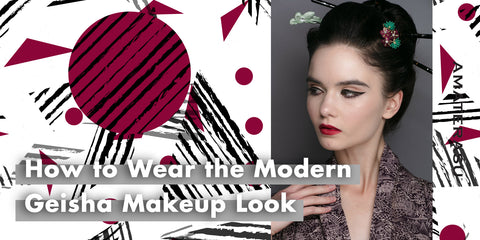 HOW TO WEAR THE MODERN GEISHA MAKEUP LOOK?