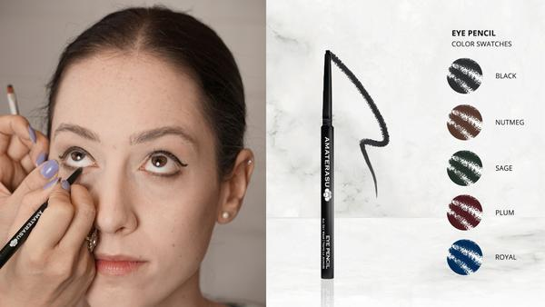 How to find the best type of waterproof eye pencil Amaterasu Beauty