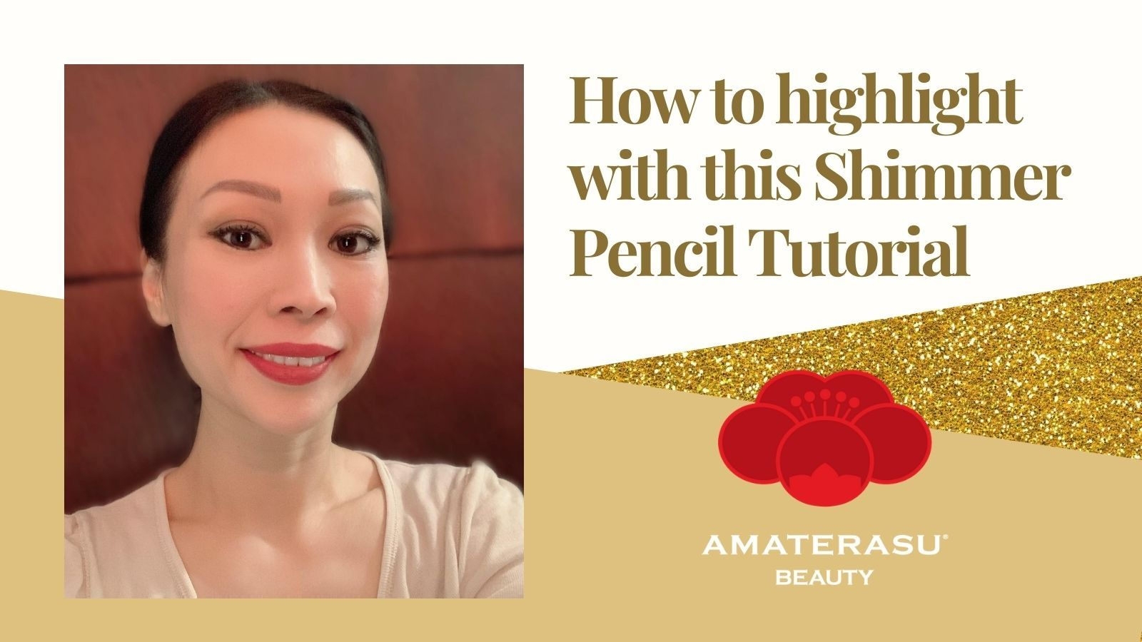 How to highlight with this Shimmer Eye Pencil Amaterasu Beauty