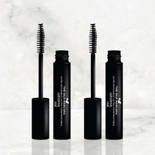 Load image into Gallery viewer, duo mascara power to customize your lashes from daytime natural to coating a few more layers for a sexy sultry look with Geisha Ink The Silk Mascara amaterasu