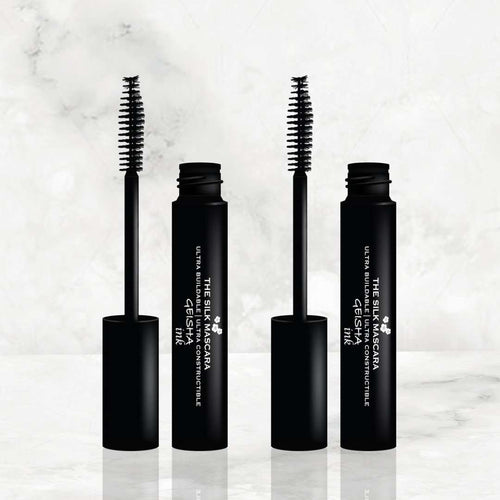 duo mascara power to customize your lashes from daytime natural to coating a few more layers for a sexy sultry look with Geisha Ink The Silk Mascara amaterasu