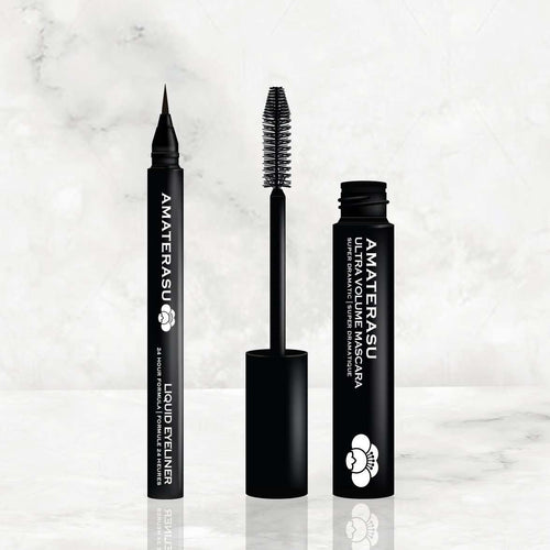 Liquid Eyeliner and Ultra Volume Mascara amarterasu
