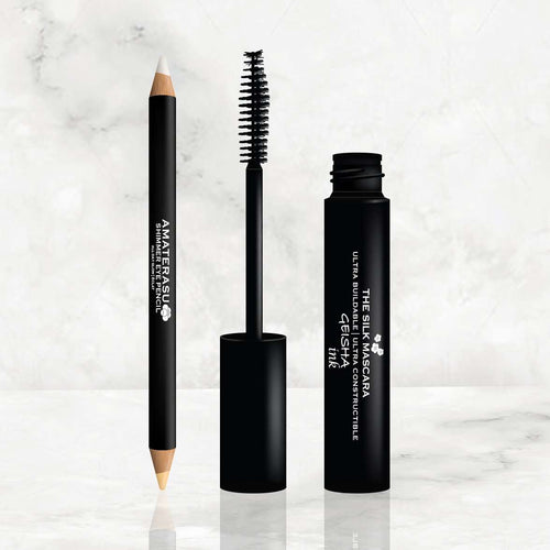 SILK MASCARA + SHIMMER EYE PENCIL