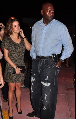 64a49fc63731 Michael Jordan is probably the worst dressed celebrity I can think ...