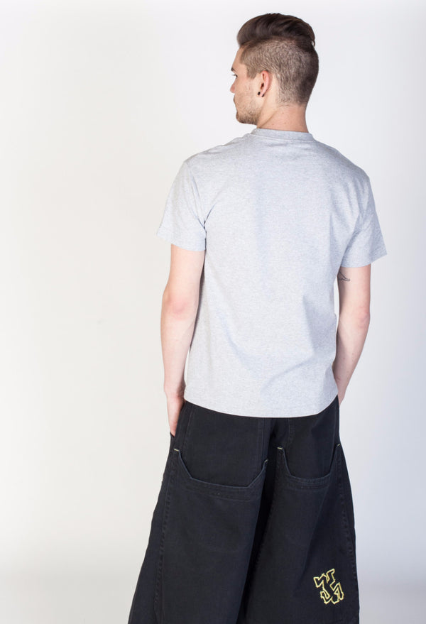 Slacker Tee- Heather Gray