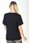 Patch Tee Black
