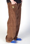 JNCO Stinger Corduroy Pants Brown-Leg Opening 23""