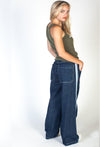 JNCO Women's Mini Jeans Dark Stone