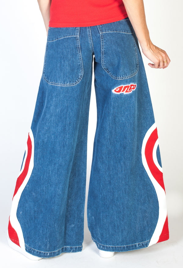 Red Hypnotix Jeans Light Wash- Leg Opening 32""