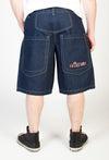 "Low Down Shorts Dark Rinse- 13"" Inseam"