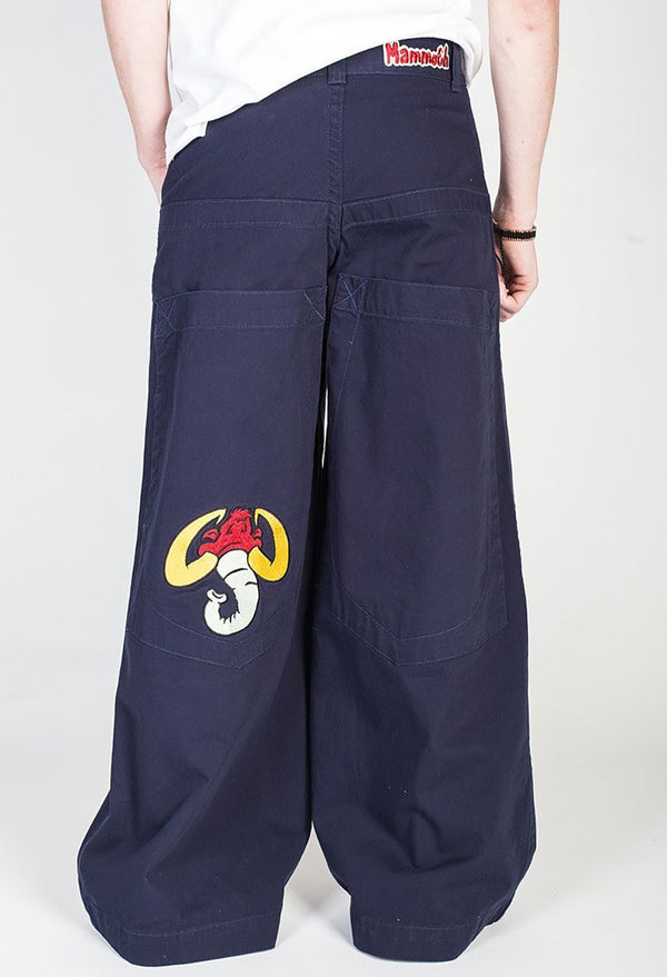 Mammoth Twill Pants Navy - Leg Opening 32""