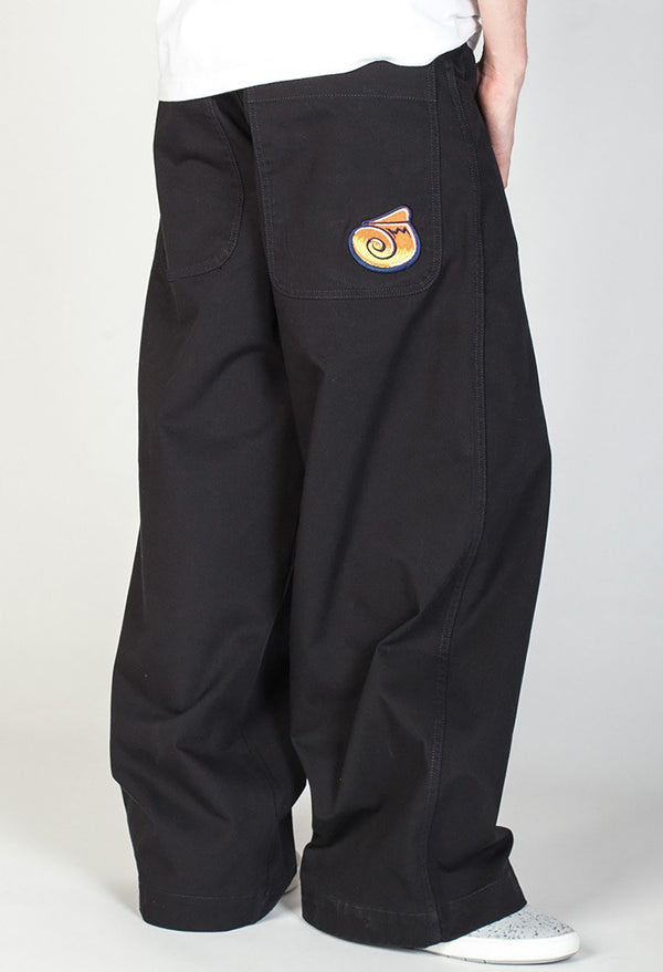 Orange J Twin Cannon Twill Pants Black-Leg Opening 26""