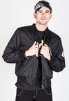 Phantom Bomber Jacket-Black only XL