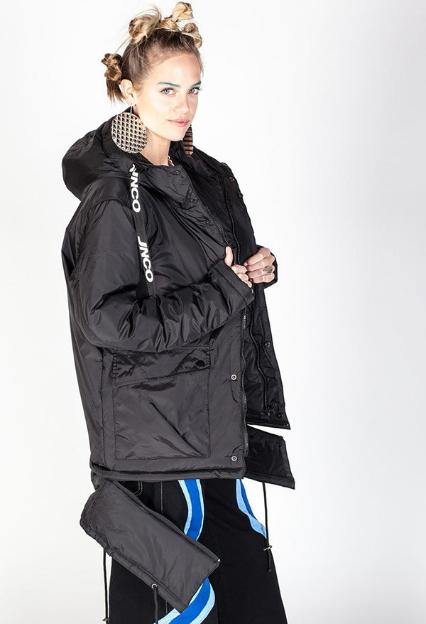 Parka - Drab Hooded- Black