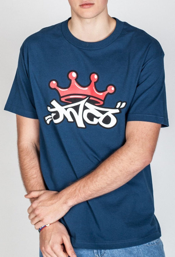 Shirts - Crown Tee Blue