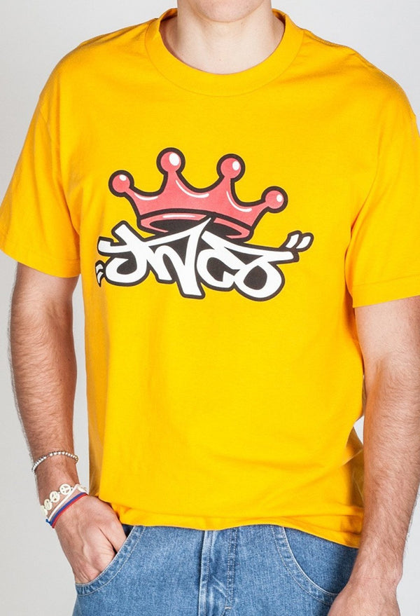 Shirts - Crown Tee Yellow Gold