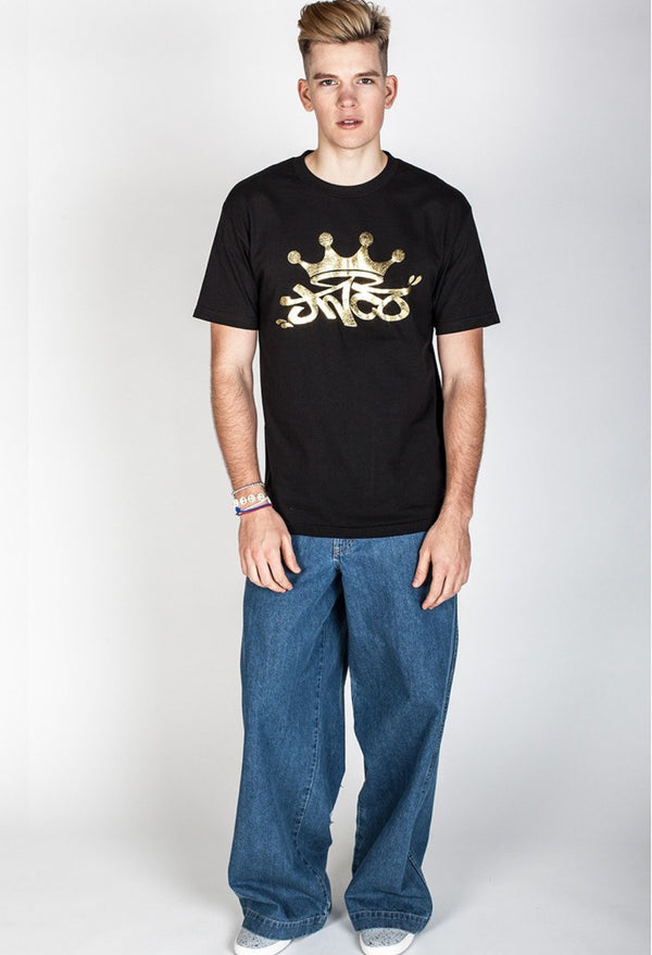 Shirts - Foil Crown Tee Gold