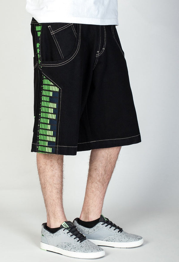 "Shorts - JNCO Equalizer Shorts- 13"" Inseam"