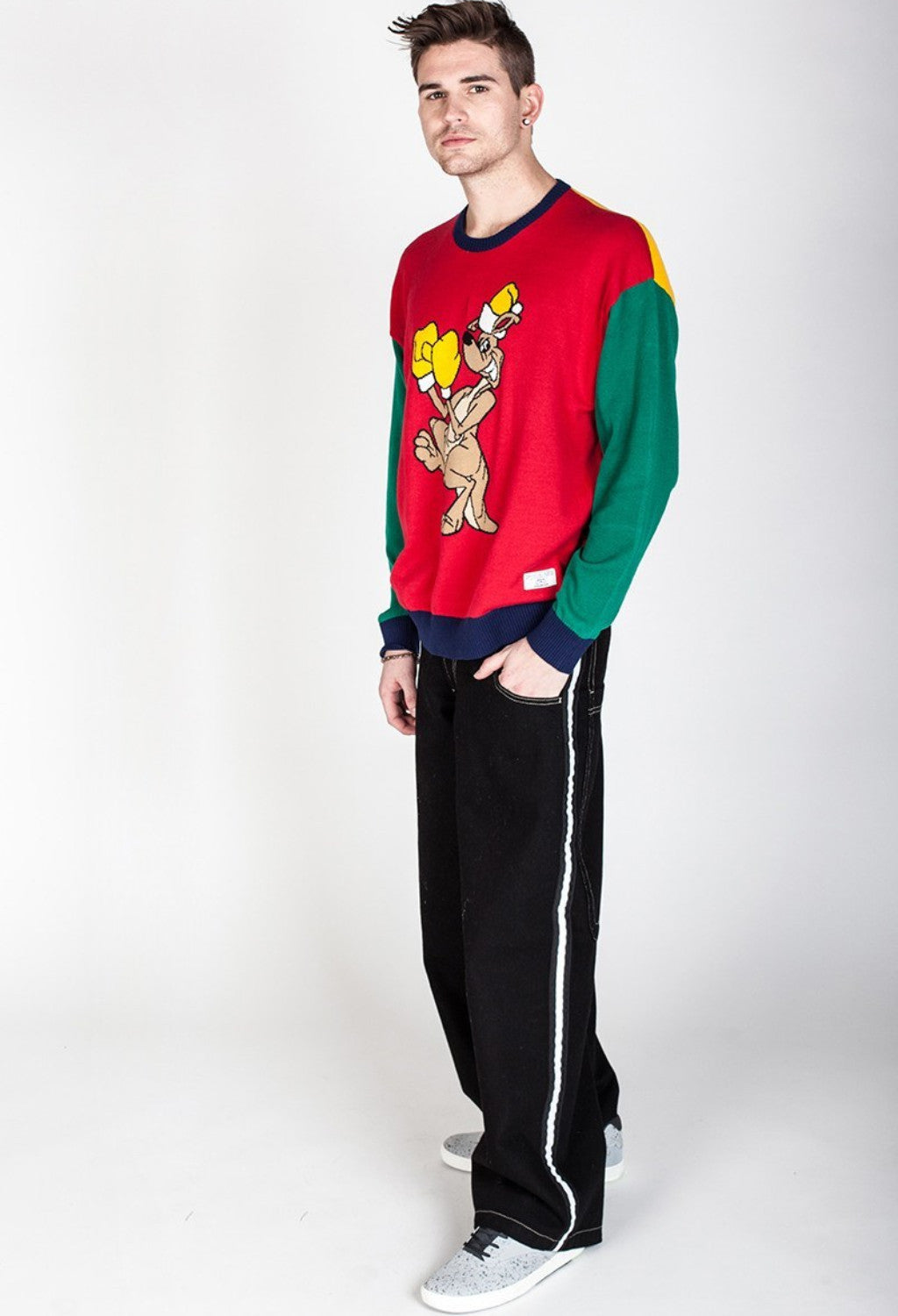 jnco uppercut novelty holiday sweater jnco jeans