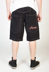 "Low Down Shorts Black- 13"" Inseam"