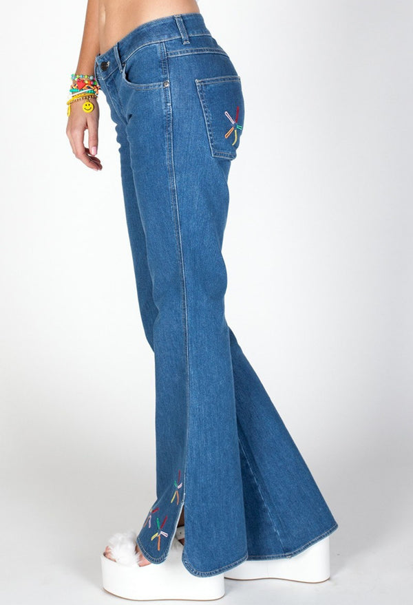 WOMEN'S JEANS - JNCO Chimes- Leg Opening 23""