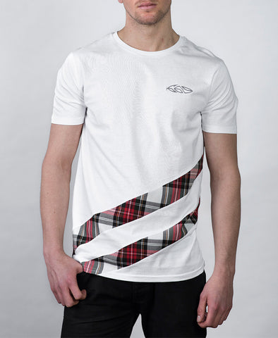 G69 Glasgow Drip Logo White T-Shirt
