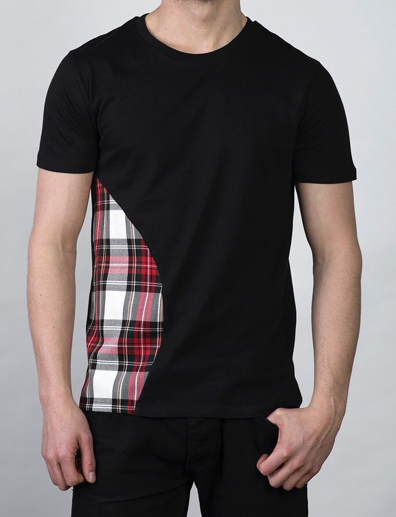G69 Side Panel T-shirt (Black)