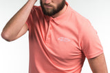 Slim-Fit G69 Emblem Polo Shirt - Coral
