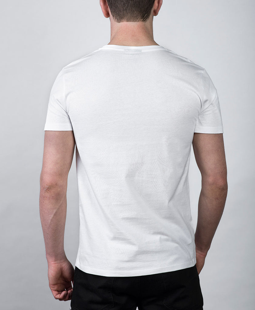 G69 Drip Logo White T-Shirt Rear
