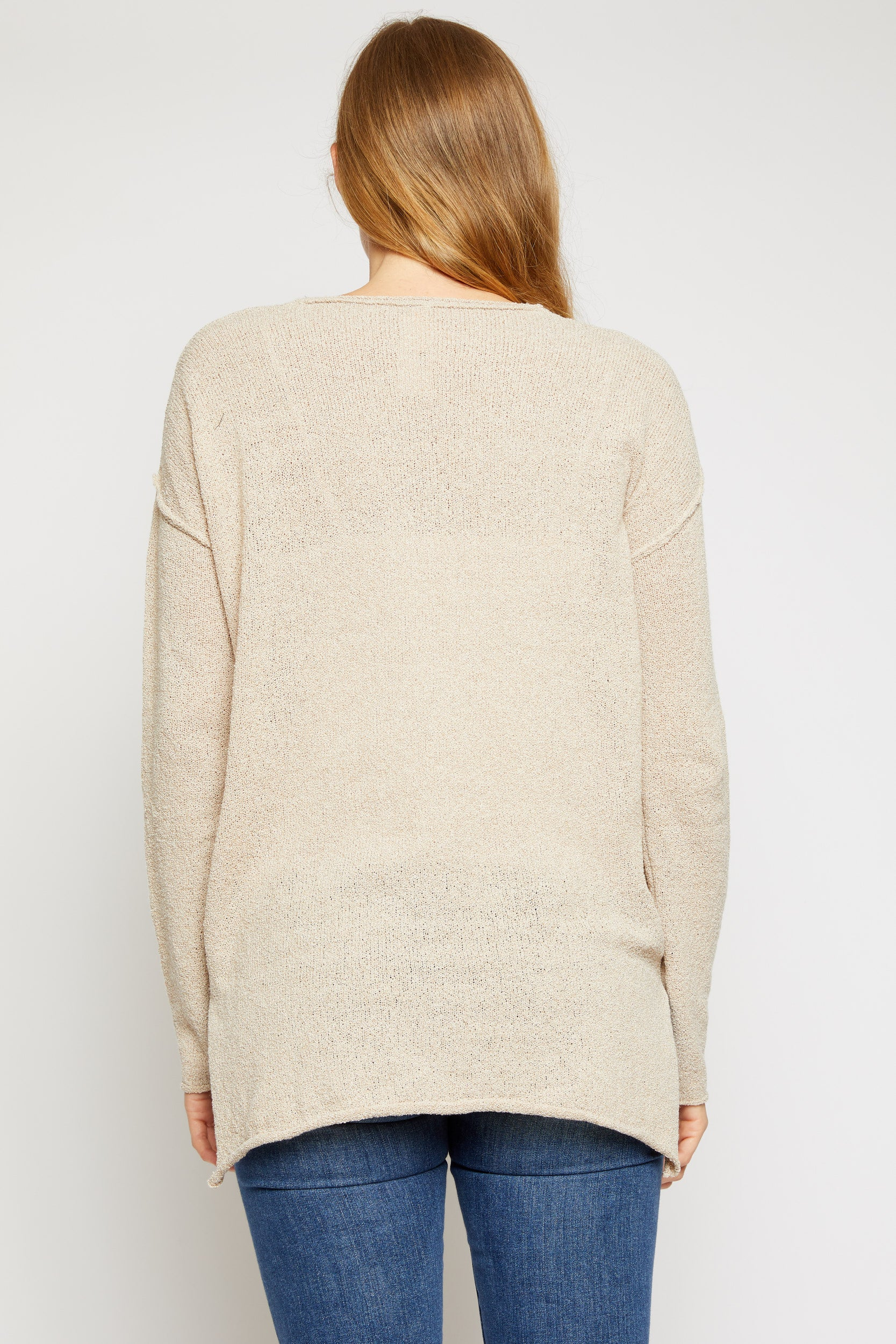 Knit Oversized Sweater - Jacqueline B Clothing