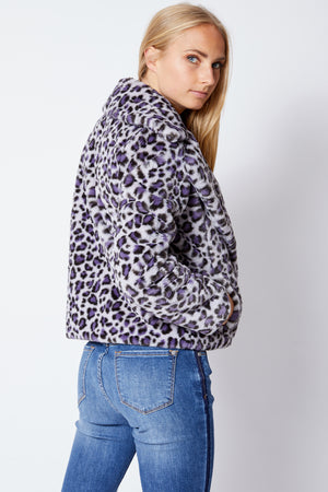 Leopard Jacket - Jacqueline B Clothing