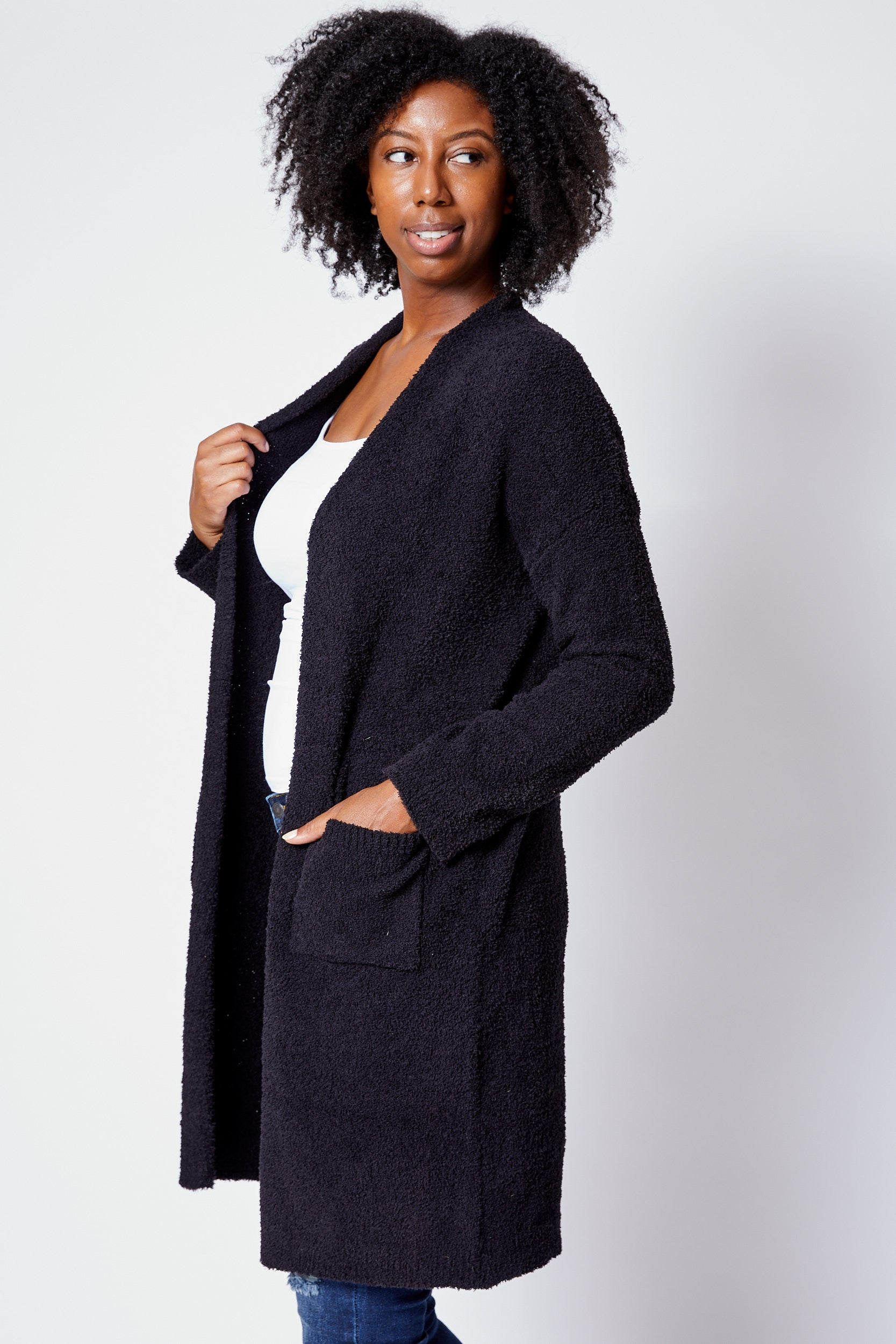 Super Soft Cardigan - Jacqueline B Clothing