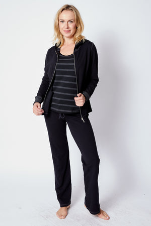 Striped Sweats - Jacqueline B Clothing