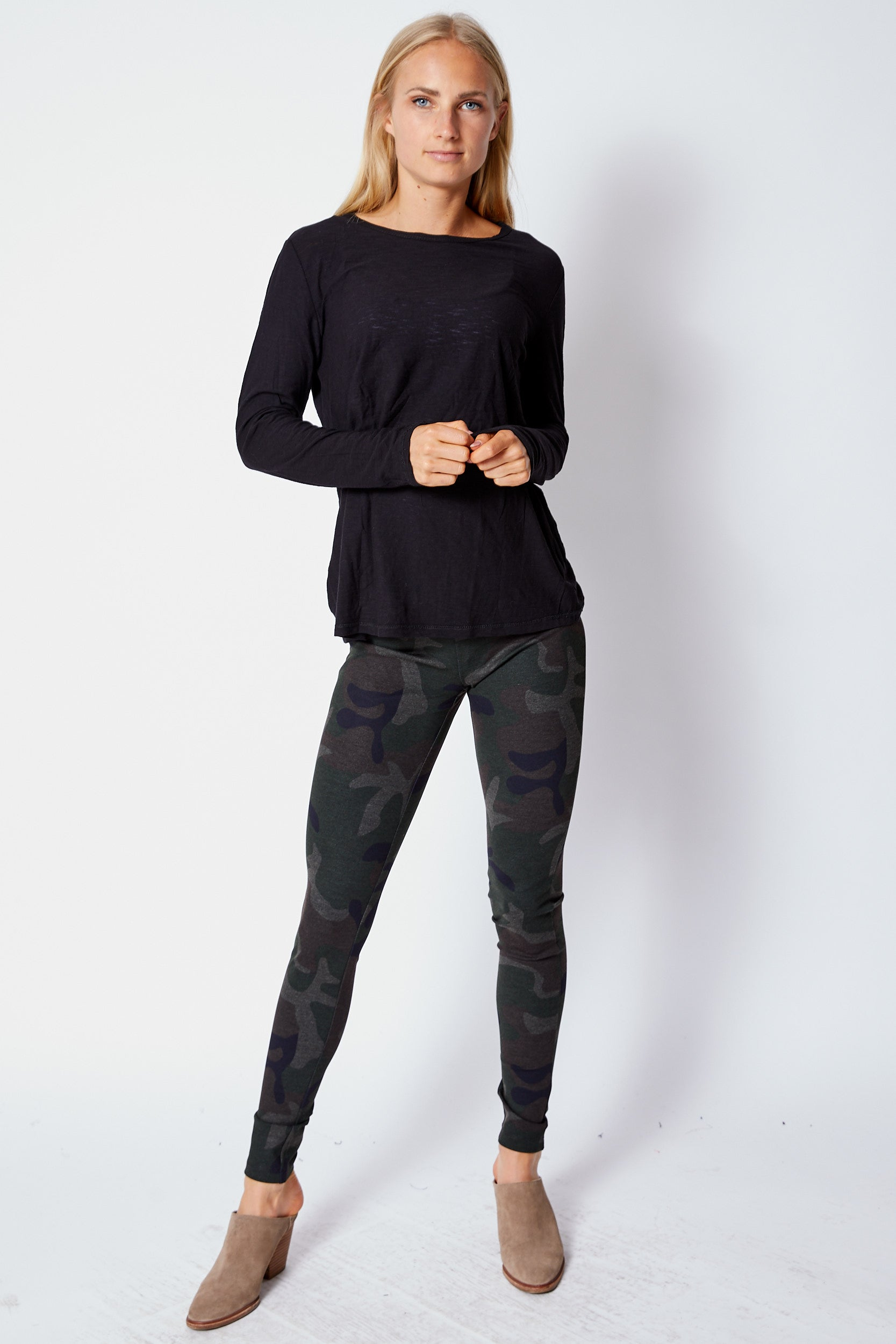 Camo Leggings - Jacqueline B Clothing