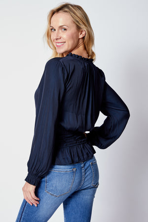 Elastic Waist Top - Jacqueline B Clothing