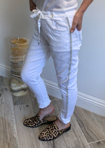 Super-stretch Italian Pants - Jacqueline B Clothing