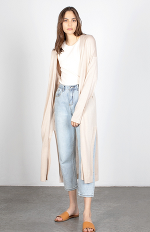 Long Lightweight Cardigan - Jacqueline B Clothing