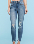 Distressed Jeans - Jacqueline B Clothing