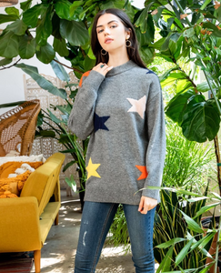 Colorful Star Sweater