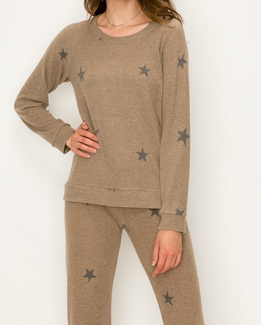Super Soft Star Top or Bottom