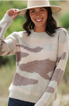 Camouflage Chunky Sweater