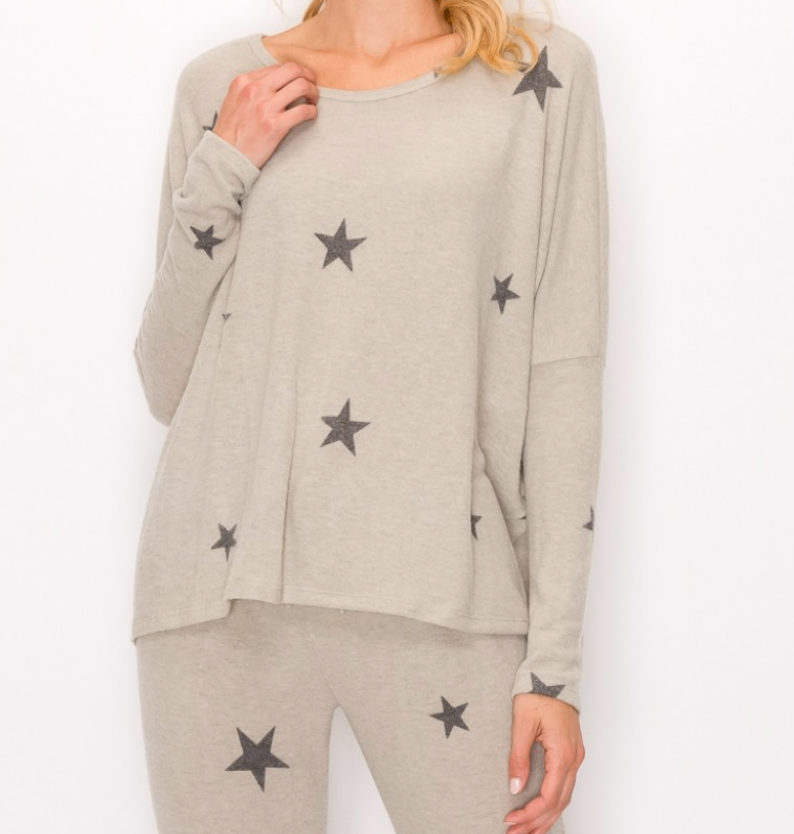 Star Sweatshirt and Pant