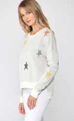 Multi Color Star Sweater