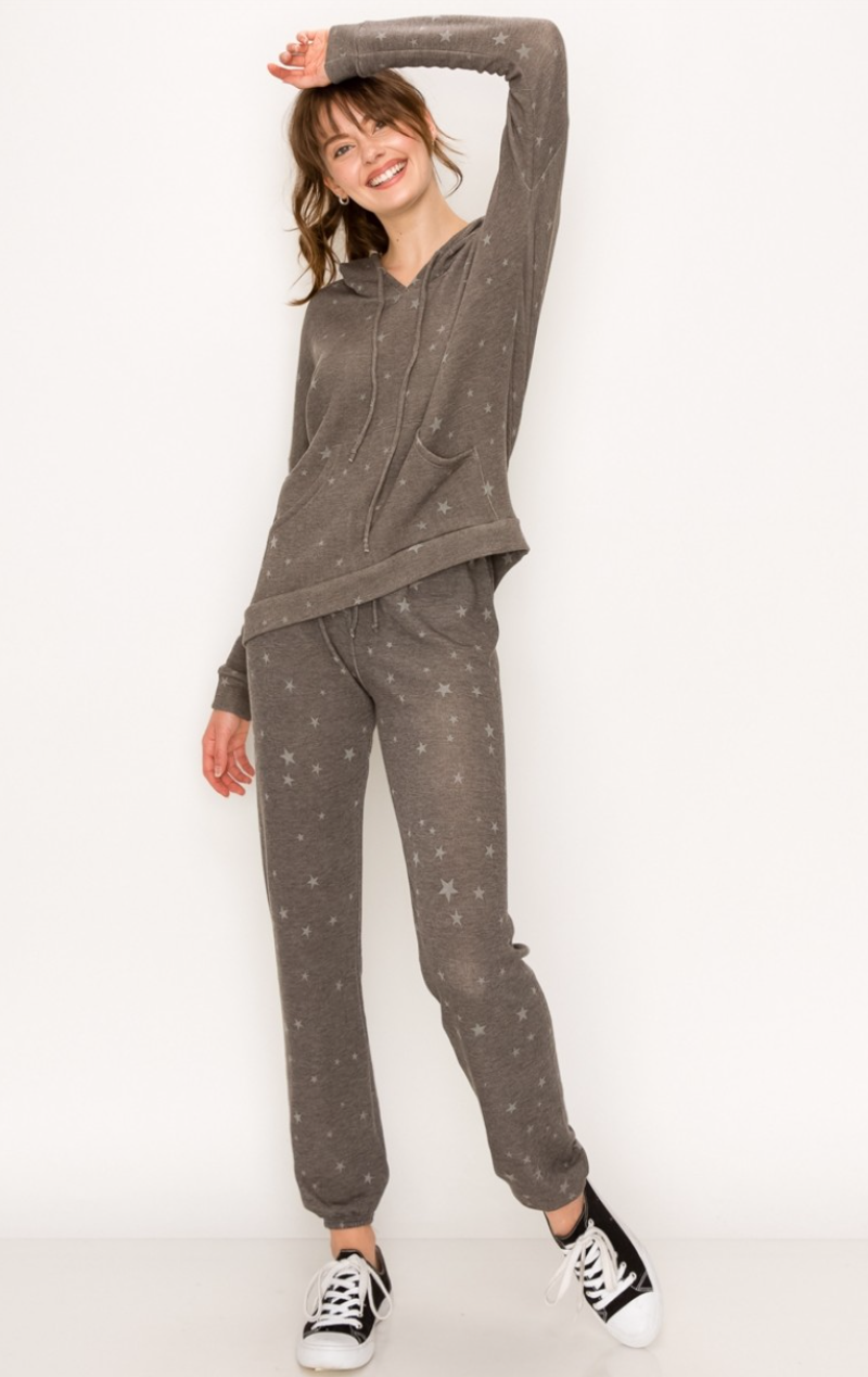 Mini Star Hoodie and Pants