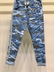 Super Stretch Blue Camo