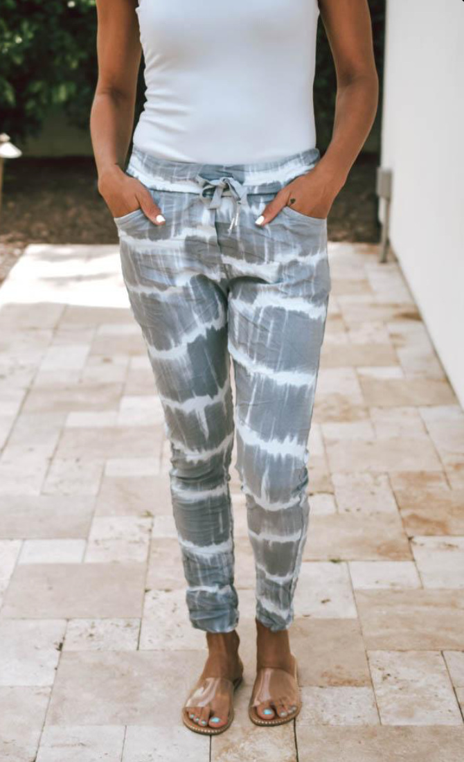 Super Stretch Tie Dye Italian Pant