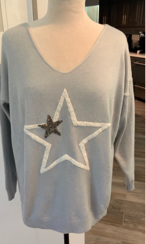 Star Sweater From Italy